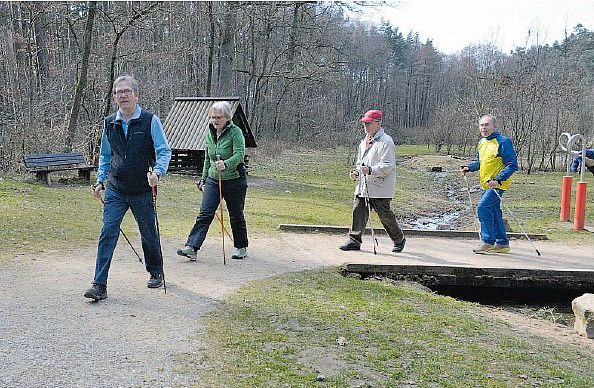 Nordic Walking am Meilwald